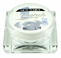 ŻEL  FRENCH WHITE 15ml